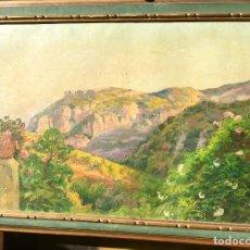 Arte: ESPECTACULAR ÓLEO CON PAISAJE DE VALLDEMOSSA DEL MAESTRO JOAN FUSTER BONNIN (MALLORCA 1870-1943). Lote 154660842