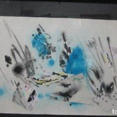 Arte: JOAN JOSEP THARRATS 1918 - 2001 COMPOSICIÓN COLLAGE Y TÉCNICA MIXTA. Lote 146114982