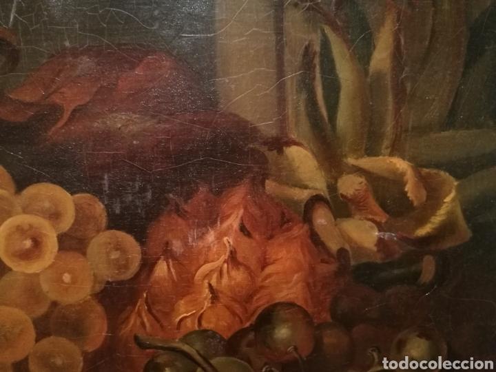 Arte: NATURALEZA MUERTA DE ESCUELA FLAMENCA CIRCA 1800 - Foto 4 - 146271948