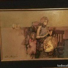 Arte: ÓLEO DE GUTIERREZ MONTIEL. Lote 146496530