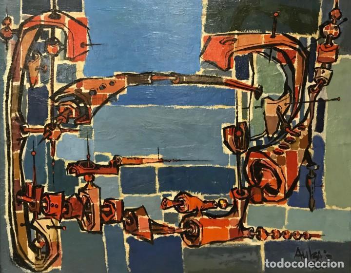 SALVADOR AULESTIA (1915-1994) (Arte - Pintura - Pintura al Óleo Contemporánea )