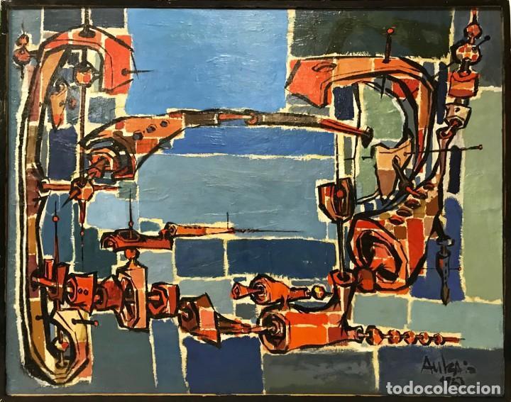 Arte: SALVADOR AULESTIA (1915-1994) - Foto 2 - 146502586