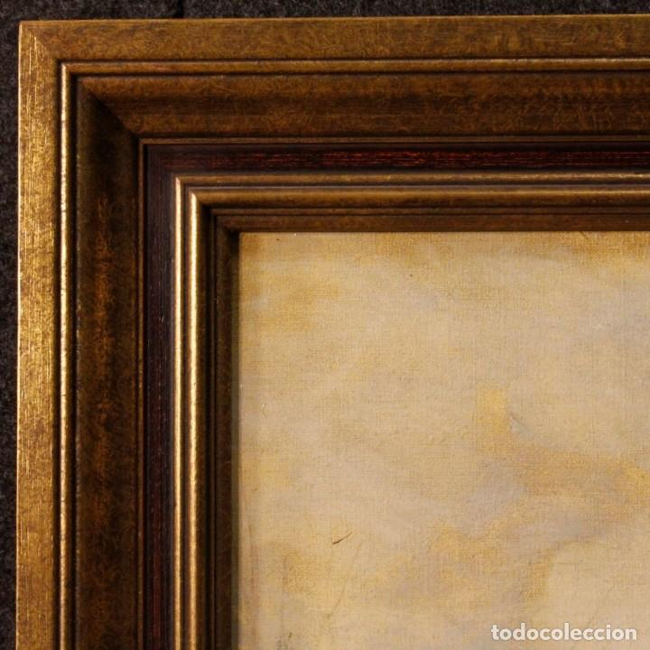 Arte: Pintura holandesa al óleo sobre lienzo con paisaje del siglo XX - Foto 3 - 146522202
