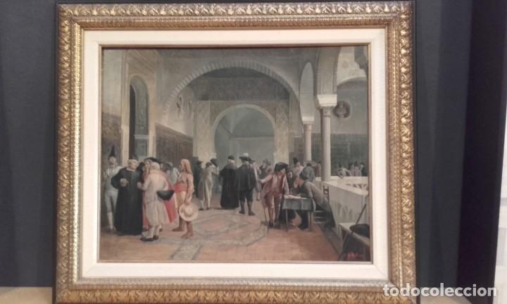 Arte: Tertulias / óleo sobre lienzo / costumbrista - Foto 4 - 146574158