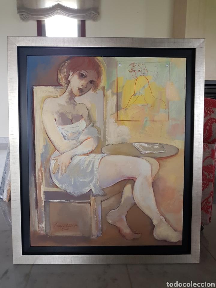 MATERNIDAD (Arte - Pintura - Pintura al Óleo Moderna sin fecha definida)