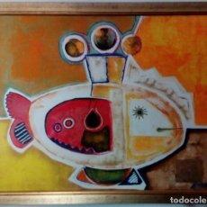 Arte: ALEJANDRO GINER MARCO (VALENCIA 1947) O/T 65 X 81 CM DE 1997. Lote 146654778