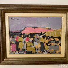 Arte - Óleo sobre lienzo del pintor Ruibal - 146737490