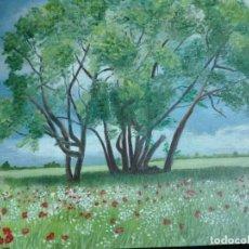 Arte: CUADRO PAISAJE FIRMADO RHF MEDIDAS 28X 36. Lote 146893458