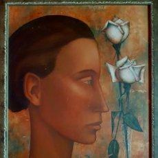 Arte: PIERRE HENRY ( FRANCIA 1924-2015 ), PRECIOSA Y EXQUISITA PINTURA ORIGINAL FIRMADA.. Lote 147187533