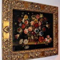 Arte: JUAN DE ARELLANO (1614-1676) (CÍRCULO). ÓLEO/LIENZO 73 X 58 CM. (CON MARCO 100 X 73 CM). REENTELADO.. Lote 147240674