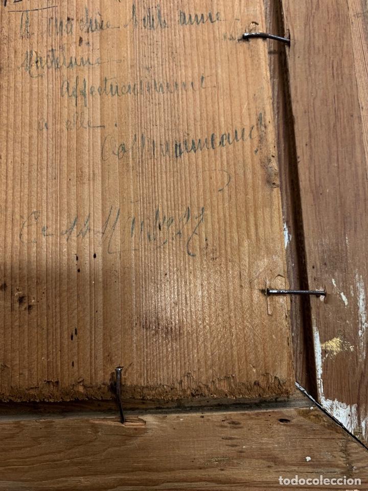 Kunst: Oleo sobre tabla Fabiola de Jean-Jacques Henner, firmado y dedicado, Francia p. s. XX - Foto 6 - 147282244