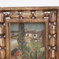 Arte: OLEO TABLA CARMEN EN GRANADA. Lote 147295954