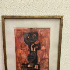Arte: PINTURA FIRMADA. JOAN HERNÁNDEZ PIJOAN AÑO 1958. Lote 147302030