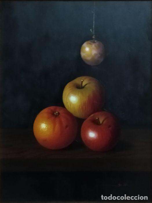 ESPECTACULAR ESCUELA ESPAÑOLA S.XVIII - BODEGÓN FRUTAL - FIRMADO (SALIDA 1€) (Art - Painting - Old Oil Painting XVIII century)