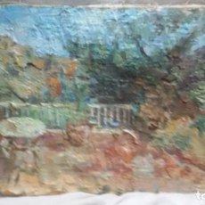 Arte: EN LA TERRAZA(OBRA EN RELIEVE) OBRA DE CHRISTIANERMO. Lote 147404834