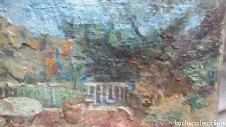Arte: En la terraza(obra en relieve) obra de Christianermo - Foto 2 - 147404834
