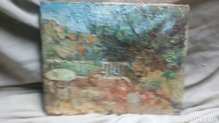 Arte: En la terraza(obra en relieve) obra de Christianermo - Foto 5 - 147404834