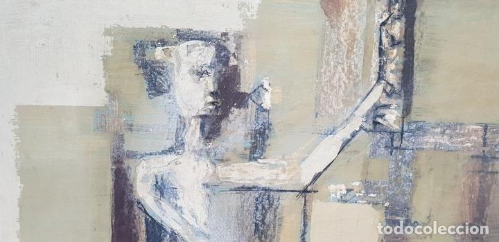 Arte: ABSTRACTO. ÓLEO SOBRE TABLA. FERNANDO MIGNONI. SIGLO XX. - Foto 2 - 147439330