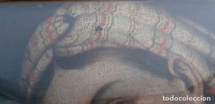 Arte: MATERNIDAD. ÓLEO SOBRE LIENZO. ESCUELA ITALIANA. SIGLO XVII-XVIII. - Foto 2 - 147454818