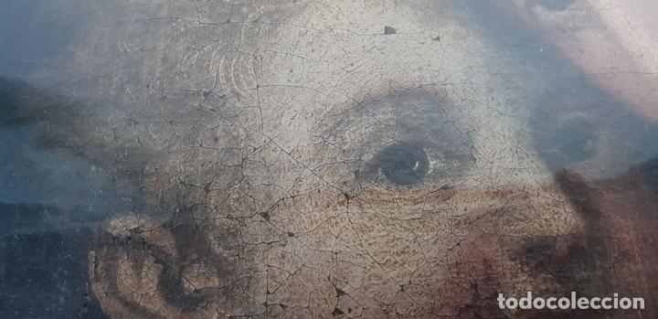Arte: MATERNIDAD. ÓLEO SOBRE LIENZO. ESCUELA ITALIANA. SIGLO XVII-XVIII. - Foto 8 - 147454818