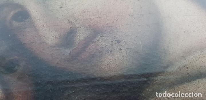 Arte: MATERNIDAD. ÓLEO SOBRE LIENZO. ESCUELA ITALIANA. SIGLO XVII-XVIII. - Foto 11 - 147454818
