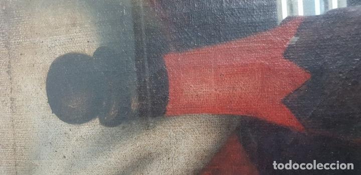 Arte: MATERNIDAD. ÓLEO SOBRE LIENZO. ESCUELA ITALIANA. SIGLO XVII-XVIII. - Foto 13 - 147454818