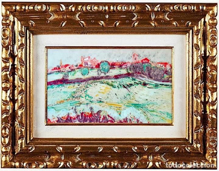 CARLOS NADAL - PAYSSAGE, TÉCNICA MIXTA (Arte - Pintura - Pintura al Óleo Contemporánea )