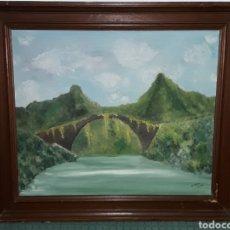 Arte: BONITA PINTURA EN LIENZO FIRMADA. Lote 147644781