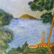 Arte: PINTURA AL ÓLEO SOBRE LIENZO CON FIRMA DE PINTOR. Lote 147710002