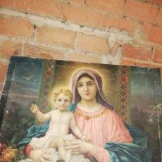Arte: ANTIGUO LIENZO RELIGIOSO. Lote 147718293