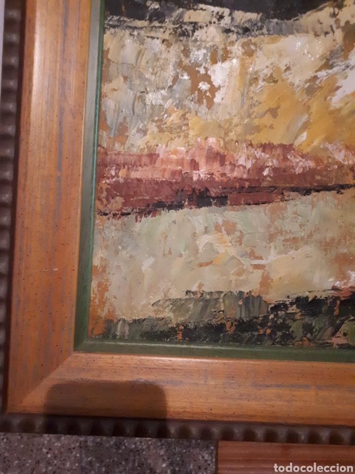 Arte: Cuadro pintado a mano sobre lienzo firmado y.deril - Foto 7 - 147736214