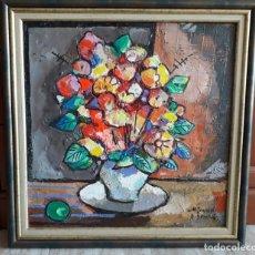 Arte: MIQUEL TORNER DE SEMIR . OLEO Y COLLAGE - ENMARCADO. Lote 147759094