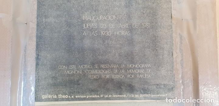 Arte: RETRATO ABSTRACTO. ÓLEO SOBRE CARTONÉ. FERNANDO MIGNONI. SIGLO XX. - Foto 8 - 147800386