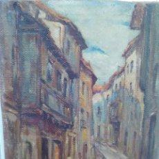 Arte: PINTURA AL OLEO SOBRE LIENZO FIRMADA GRUNWALD ALSGE ESTEBAN,PINTOR HUNGARO RESIDENTE EN ESPAÑA. Lote 147829874