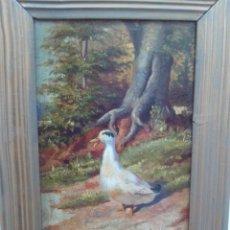 Arte: OLEO SOBRE TABLA ,FINALES SIGLO XIX,MUY BIEN REALIZADO. Lote 147966478