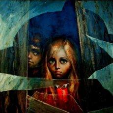 Arte: ALBERT LOCCA, PRECIOSA PINTURA ORIGINAL VINTAGE, FIRMADA.. Lote 147988218