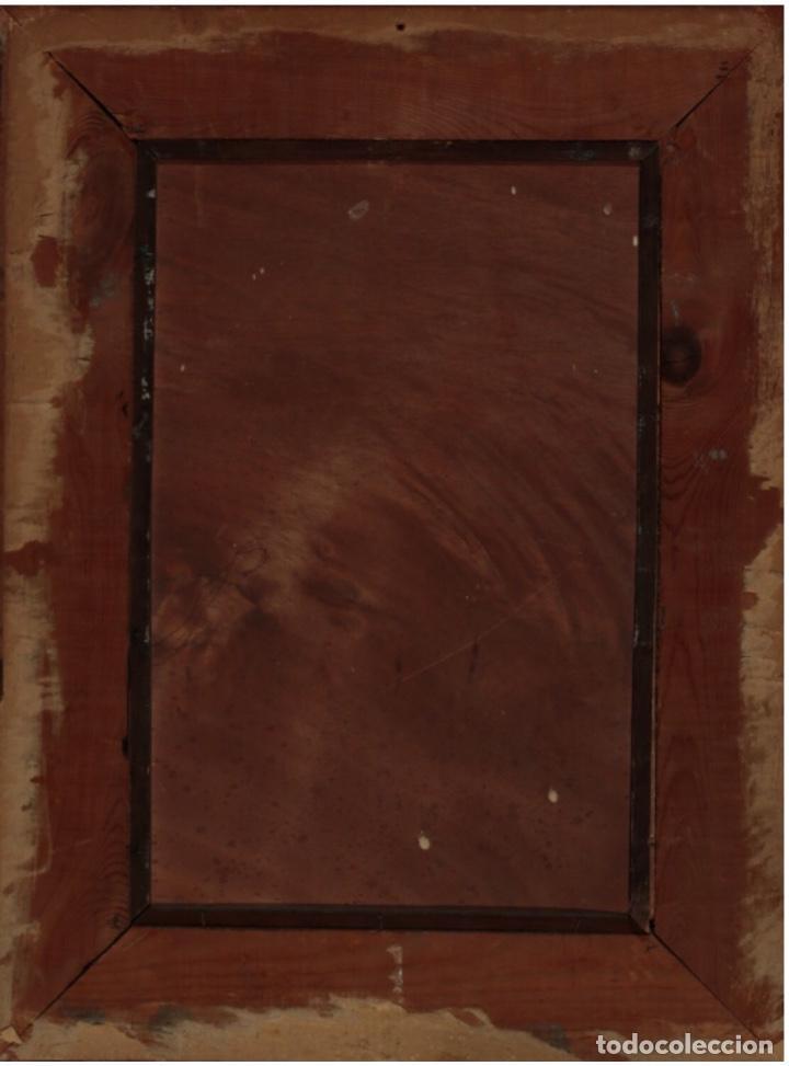 Arte: LLUIS MUNTANÉ MUNS (Mataró 1899-Barcelona 1987) MAGNÍFICO ÓLEO CON ESCENA COSTUMBRISTA DEL MAESTRO - Foto 7 - 148014318