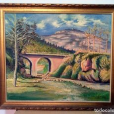 Arte: J.TORRES ( SANT FELIU DEL RACÓ ,LA MOLA )CASTELLAR DEL VALLÉS.. Lote 148016854