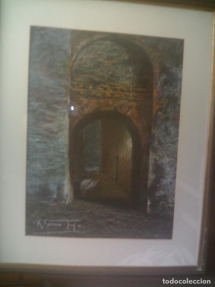 Arte: ~~~~ PINTURA A LA CERA DEL COTIZADO ARTISTA MURCIANO NACIDO EN LORCA, JOSE RUIZ GARCIA TREJO. ~~~~ - Foto 4 - 148035994