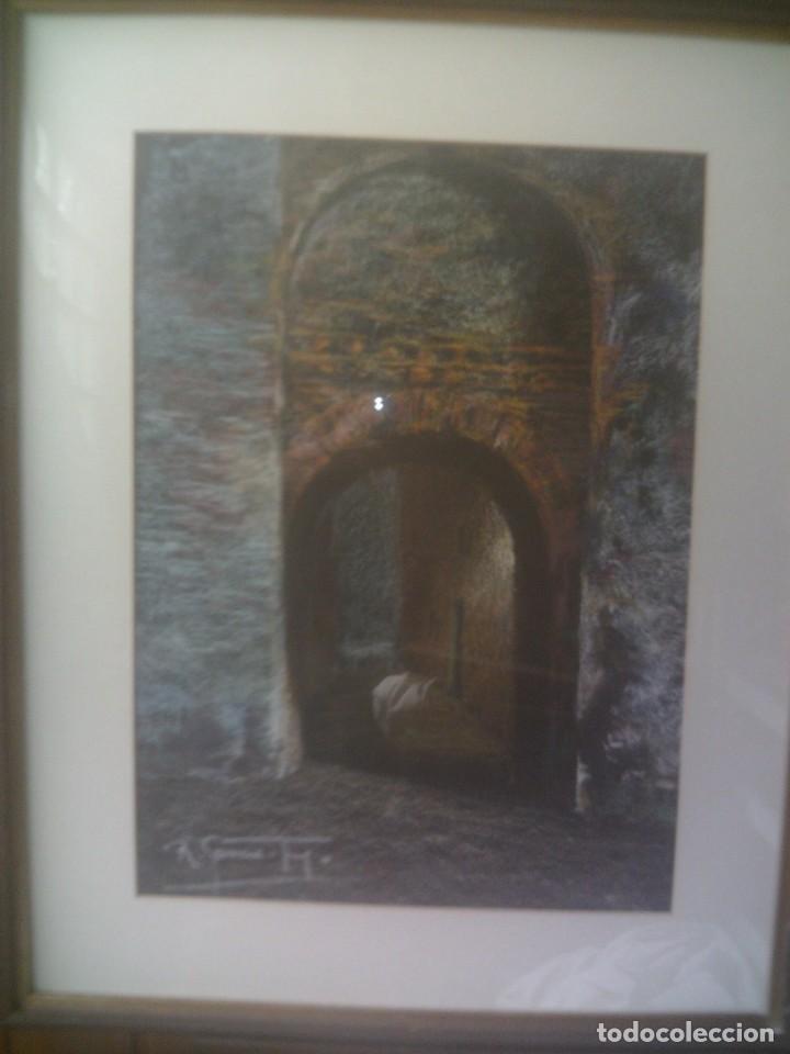 Arte: ~~~~ PINTURA A LA CERA DEL COTIZADO ARTISTA MURCIANO NACIDO EN LORCA, JOSE RUIZ GARCIA TREJO. ~~~~ - Foto 2 - 148035994