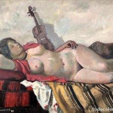 Arte: FREDERIC LLOVERAS - ÓLEO SOBRE TELA - 1981- FIRMADO. Lote 148157198