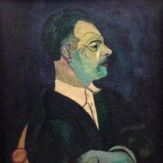 Arte: JORDI CUROS - ÓLEO SOBRE TELA - 1955 - FIRMADO. Lote 148157750
