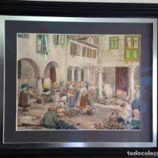 Arte: CARLOS SOBRINO BUHIGAS (1885-1978),PONTEVEDRA,LUGO,ORENSE,VIGO,SANTIAGO,CORUÑA,MADRID,SARGADELOS. Lote 148183718