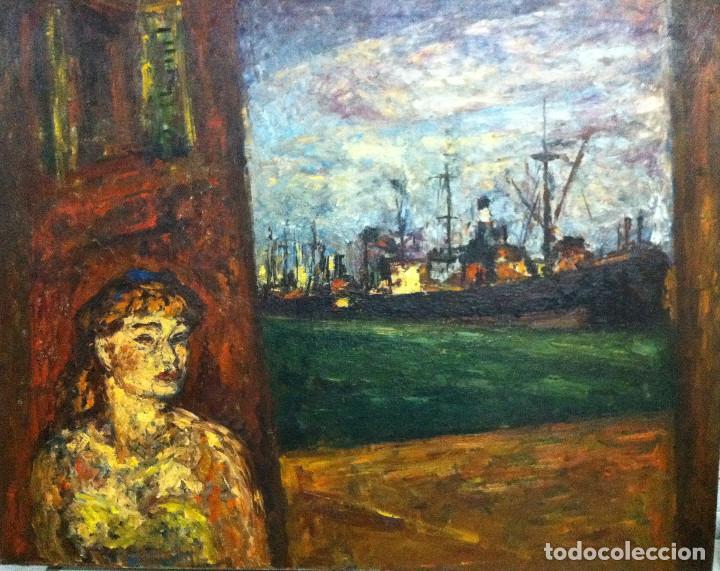 ARTURO SOUTO (1902-1964),PONTEVEDRA,LUGO,ORENSE,VIGO,SANTIAGO,CORUÑA,MADRID,BARCELONA,SARGADELOS (Arte - Pintura - Pintura al Óleo Contemporánea )