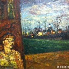 Arte: ARTURO SOUTO (1902-1964),PONTEVEDRA,LUGO,ORENSE,VIGO,SANTIAGO,CORUÑA,MADRID,BARCELONA,SARGADELOS. Lote 148187126