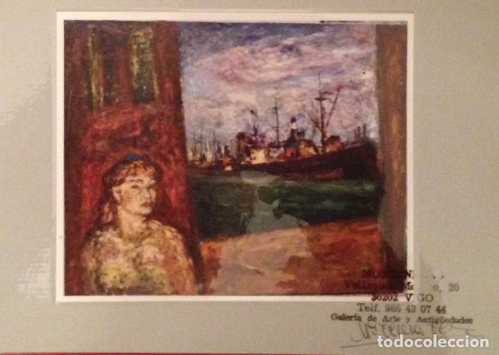 Arte: ARTURO SOUTO (1902-1964),PONTEVEDRA,LUGO,ORENSE,VIGO,SANTIAGO,CORUÑA,MADRID,BARCELONA,SARGADELOS - Foto 2 - 148187126