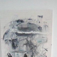 Arte: PINTURA TÉCNICA MIXTA SOBRE LIENZO ESTILO POP ART. Lote 148192714