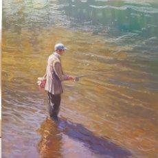 Arte: MARAVILLOSA PINTURA AL OLEO (CARLOS SEMPERE). Lote 148195438