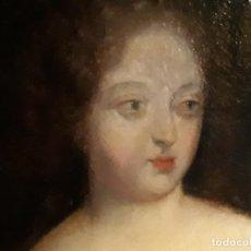 Arte: ÓLEO EN LIENZO DE UNA DAMA FRANCESA DE LA SEGUNDA MITAD DEL SIGLO XVIII FRANCIA. Lote 148220498
