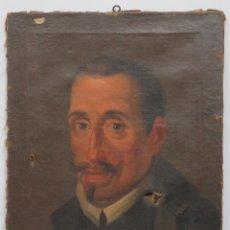 Arte: RETRATO DE LOPE DE VEGA Y CARPIO. OLEO SOBRE LIENZO. SIGLO XVIII. Lote 148282614